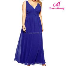 Latest Design Women Fashion Wholesale Plus Size Maxi Dress