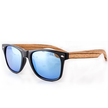 2019 Guangzhou Jusney handmade polished real wood luxury glasses polarized mirror wooden women sunglasses