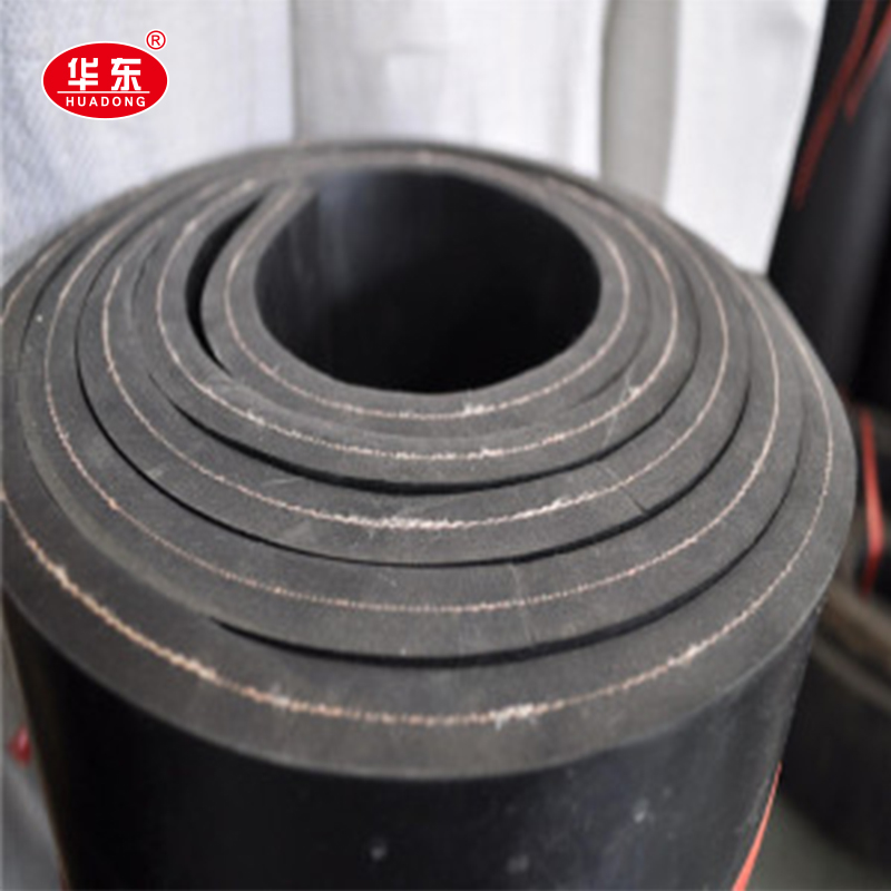 Heat Resistance Abrasive Resistant Rubber Sheet With 1 Ply Cloth Insert Rubber