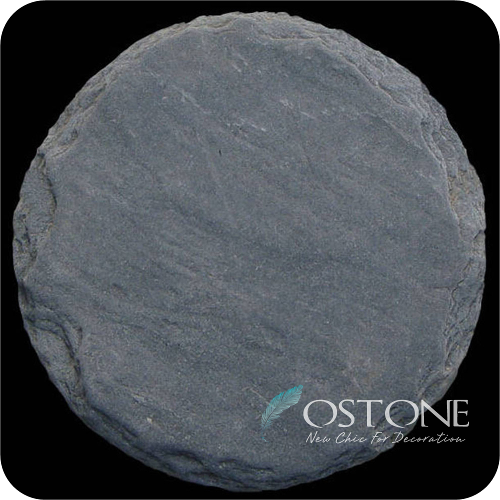 Round Pavers Black Slate Garden Stepping Stones Lowes With Factory Direct  Prices