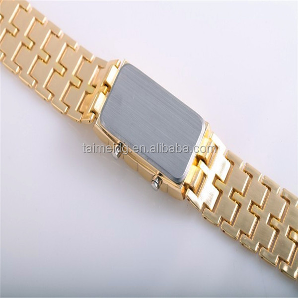 Fashion silicone jelly candy wrist watch