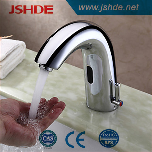 new style automatic faucets chrome finish CE approved