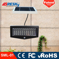 2016 Newest Design Best Solar Outdoor Lighting Wall Mount