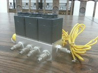 china product 3 solenoid valve manifolds