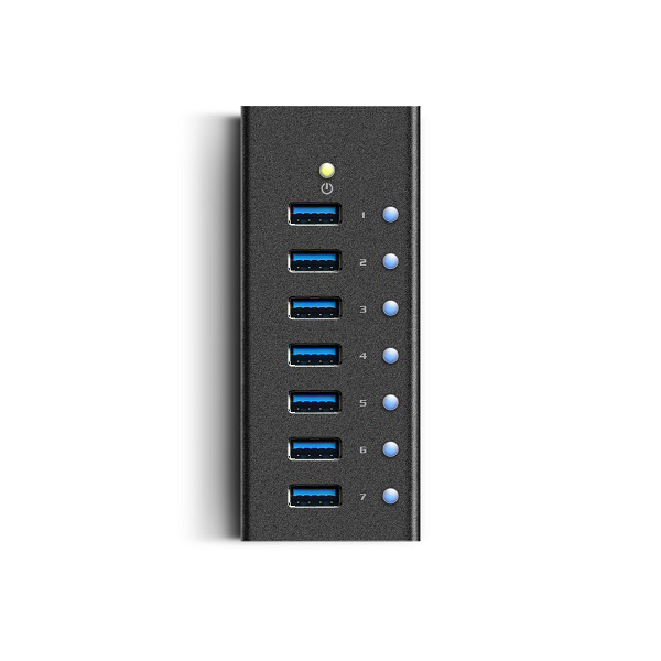 5Gbps Computer & Networking Peripheral New Mini High Speed 7 Port USB 3.0 HUB with Power Supply