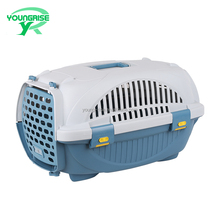 plastic pet dog carrier airline approved