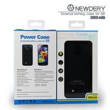 mobile power bank case extended battery case cover for samsung galaxy S5 smartphone