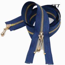 5# New selling different styles fancy two-way metal zippers
