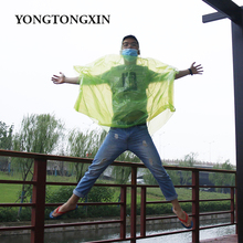 Factory price clean ultrathin waterproof transparent rain poncho disposable