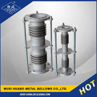 Yang bo carbon/stainless steel corrugated bellows compensator for displacement compensation