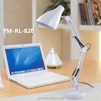 Desk lamp with usb electrical outlet!!!8W portable office led reading table light, desk lamp