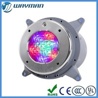 High quality 316 stainless steel IP68 CREE RGB LED lights for swimming pool/ fountain