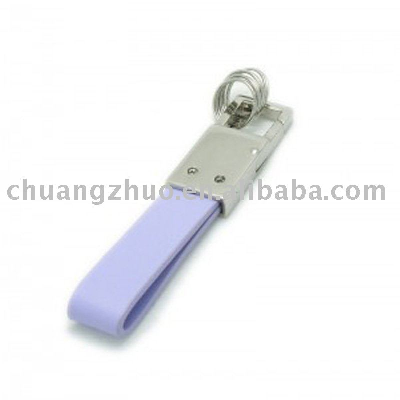 Fashion Metal Leather Promotional Gift