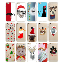Ultra thin design Christmas hot sale mobile phone case for iphone 6