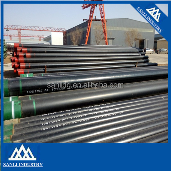 Cheap And High Quality Oil Gas Sewage Transport Casing , Casing Pipe , Oilfield Casing Prices