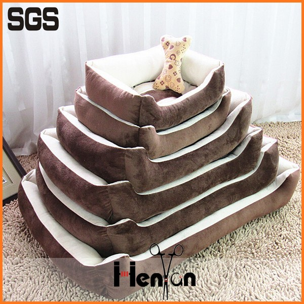 custom wholesale non slip pet luxury dog bed