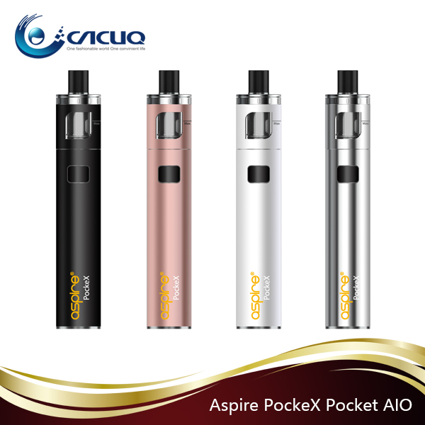 2017 Aspire PockeX /Aspire PockeX Pockex AIO kit original e-cigarette wholesale