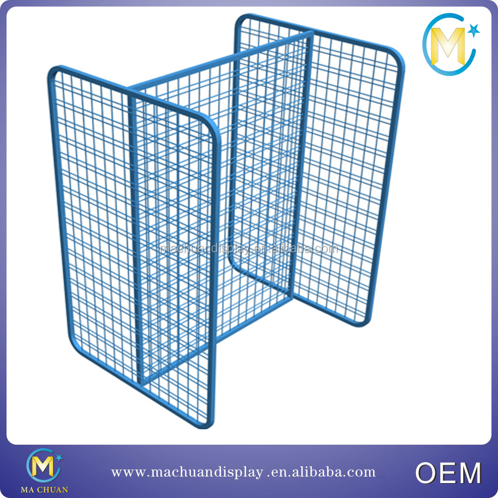 Metal wire grocery store display racks shelf for sale