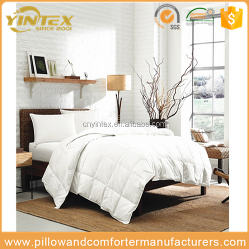Breathable Hypo-allergenic Wool Home Bedding Comforter &Duvet&Quilt With 100% Combed Cotton Cover