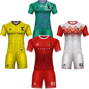 New product wholesale dry fit shirts Custom boys soccer jersey sportswear men clothes sublimation printing football kit