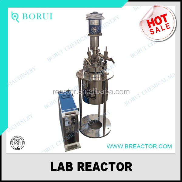 reactor, pharmaceutical reactor, 2L laboratory testing reactor