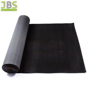 Fine Ribbed Pattern Insulation And Anti-slip Rubber Garage Floor Mat