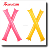 NX Promotion Customized PE Plastic Inflatable Noise Cheering Stick,bang bang stick