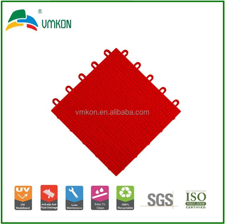 vmkon hot sale soft pp indoor suspended interlocking sports courts flooring