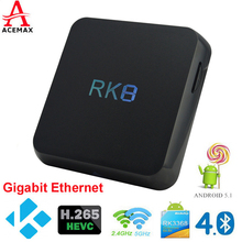 Octa Core 5.1 Lollipop Android Tv Box 2g 8g Plug and Play 4k Tv Media Center Box Streaming Media Player Iptv Htpc