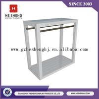 good quality and high-end display rack for garment store