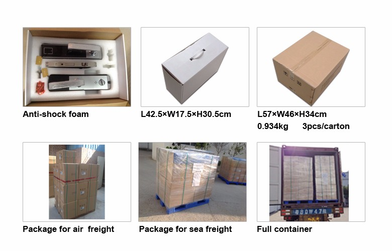 ANSI standard mortise luxury design RFID card hotel lock