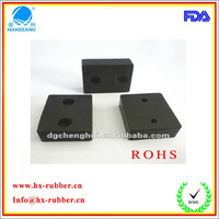 Dongguan factory customed double side adhesive anti-vibration rubber cork pad