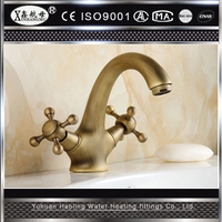 2015 New The European And American Style Restoring Ancient Ways Brass Bathroom Faucet