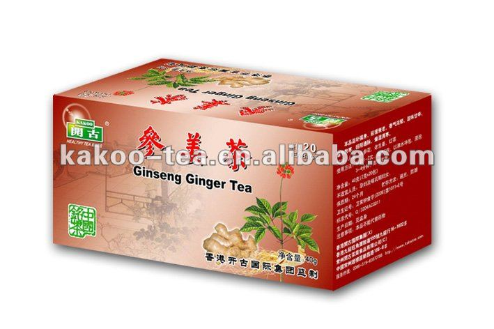 health tea bag chinese tradition herbs teabags Ginseng ginger tea