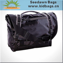 Tarpaulin Crossbody Messenger Bag with Laptop Compartment