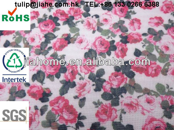 Tennis print stitchbond nonwoven fabric