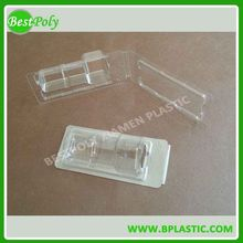 Cheap custom logo thermoforming packaging, blister clamshell pack