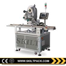 Top Surface Coffee Bag Auto Plastic Labeling Machine