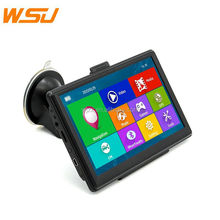 Hot Sale 7inch 256MB 8GB SAT NAV Maps with Bluetooth Vehicle GPS Tracker Car GPS Navigator