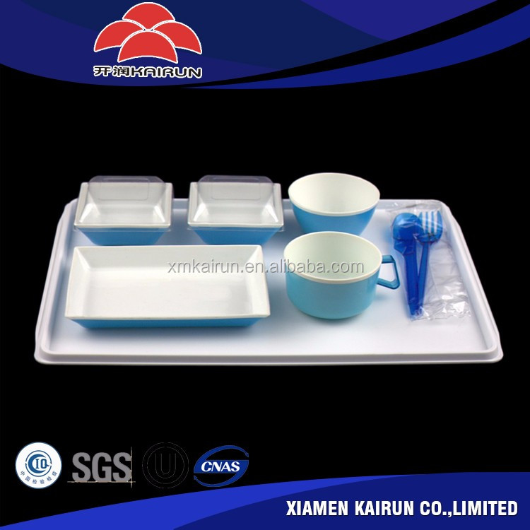 Economy Class Tray set-up, Inflight Rotables, inflight tablewares