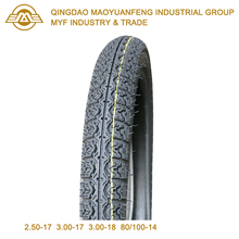 2.50-17 China Factory Wholesale Street Tyre for Motorcycle