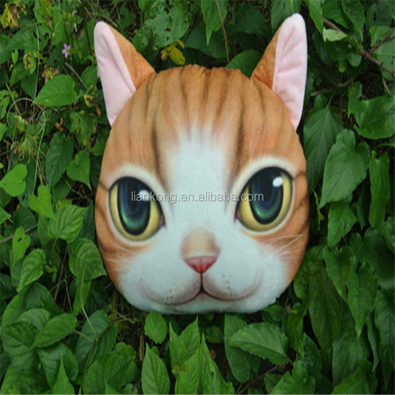 factory direct sale cushion cat decorative sofa bolster pillow