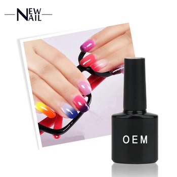 Newnail professional nail temperature change gel polish ,gel polish change color