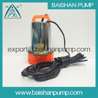 DC Plastic handle low price small submersible water pump