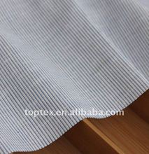 stripes cotton linen yarn dyed fabric
