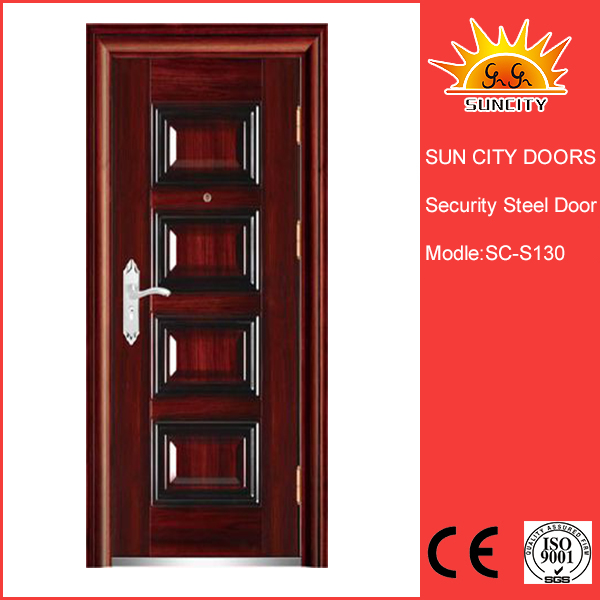 SC-S130 Good Quality wrought iron cellar doors