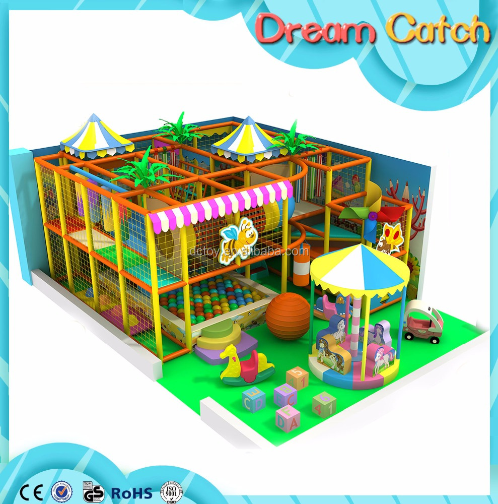 2017 Newest Design indoor used amusement park equipment/children's playground equipment for sale