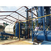 The newest generation waste tire oil pyrolysis recycling machine pyrolysis