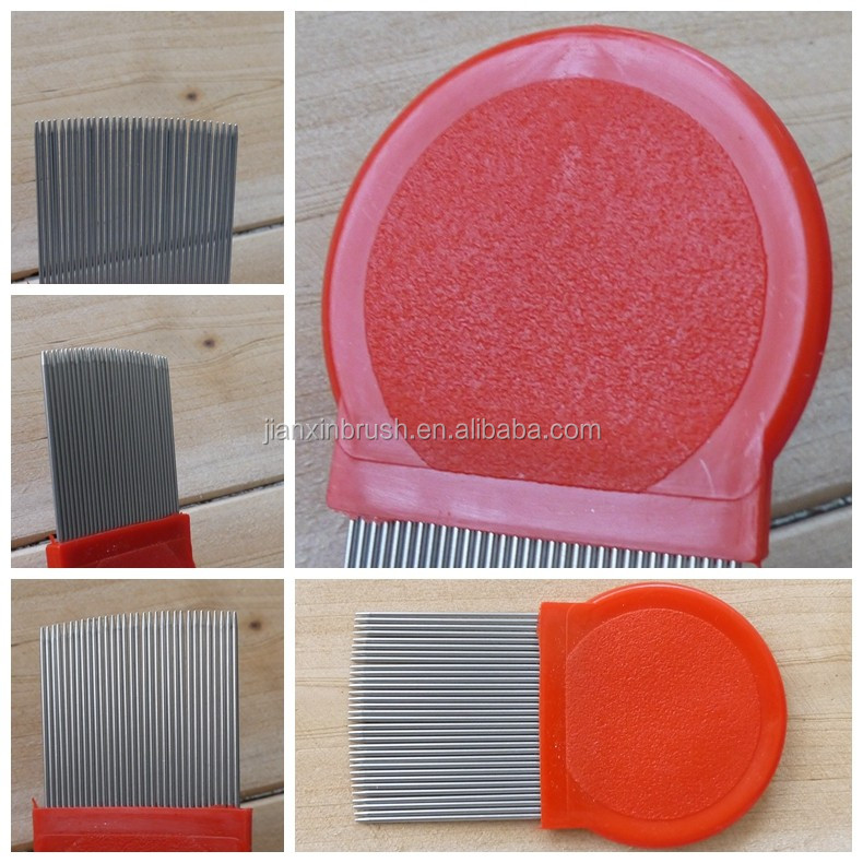 Wholesale Cheap Plastic Nit Lice Comb For Human Hair Cleaning