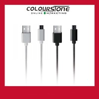 High quality fast charging magnetic silver/black USB data cable for mobile cell phone HDS-USBC-02